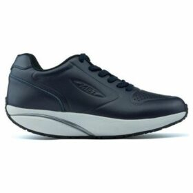 Mbt  Unisex  1977 Leather Winter Shoes  women's Shoes (Trainers) in Blue