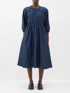 Prada - Stud Embellished Leather Sandals - Womens - Black Yellow