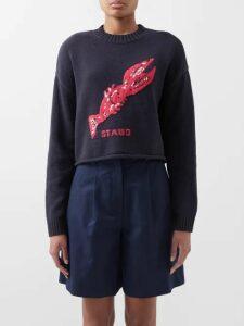 Christian Louboutin - Chocazeppa 50 Metallic Leather Flatform Sandals - Womens - Silver
