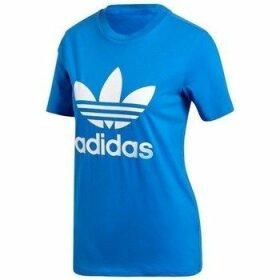 adidas  Trefoil Tee  women's T shirt in multicolour