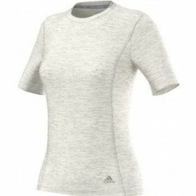 adidas  Supernova Short Sleeves Running Tshirt  women's T shirt in Grey