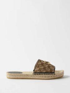 Sanayi 313 - Rango Jacquard And Velvet Backless Loafers - Womens - Black Multi