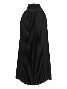 Haider Ackermann Haider Ackermann Pleated Silk Top