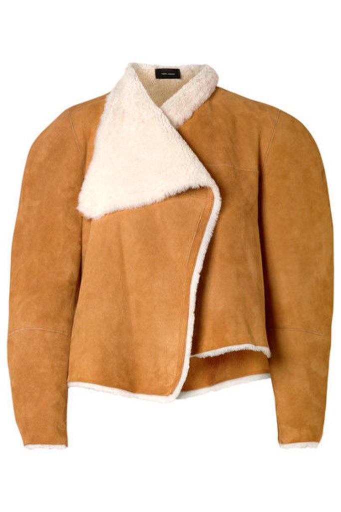 Isabel Marant - Acacia Reversible Shearling And Suede Jacket - Camel