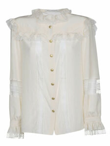 Philosophy di Lorenzo Serafini Ruffled Neck Blouse