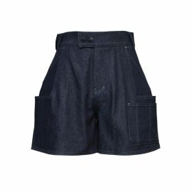 Lindsay Nicholas New York - Double-Breasted Jacket In Hickey Blue Plaid