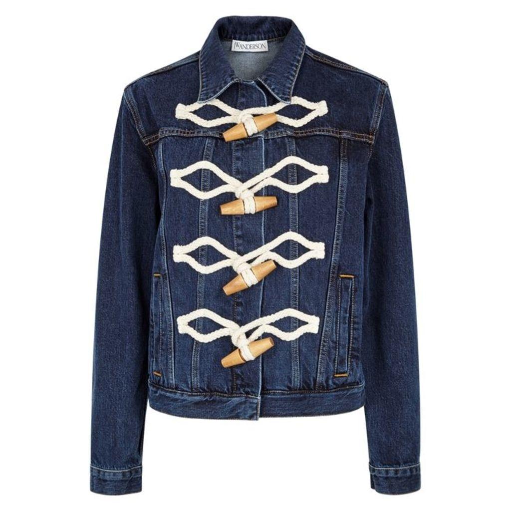JW Anderson Dark Blue Denim Jacket