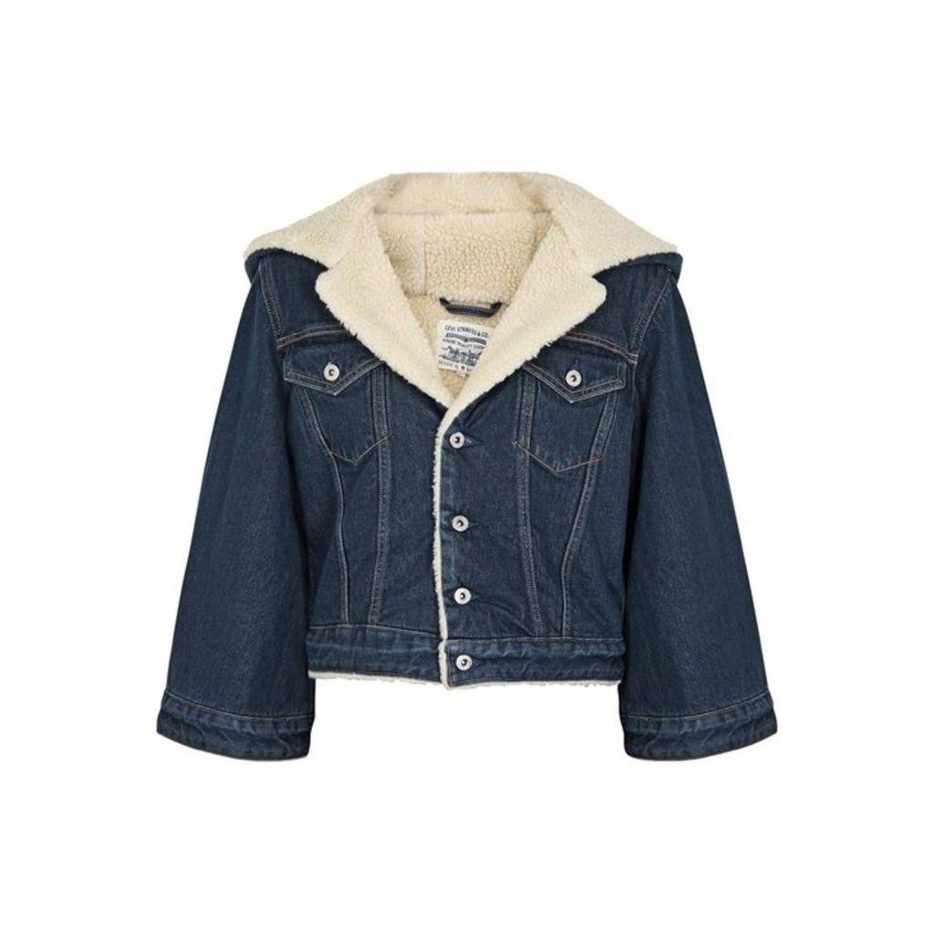 Levi's Made & Crafted Indigo Cropped Denim Jacket