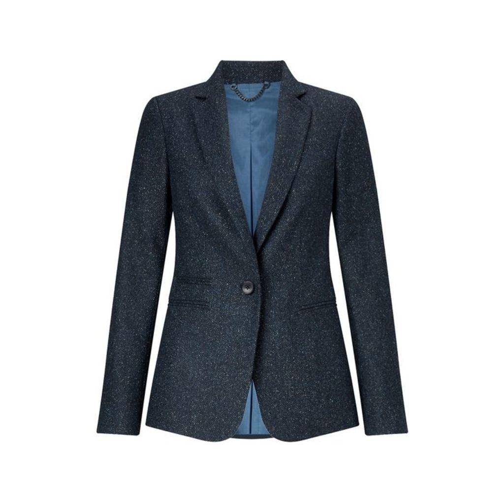 Jigsaw Herringbone Donegal Heritage Jacket