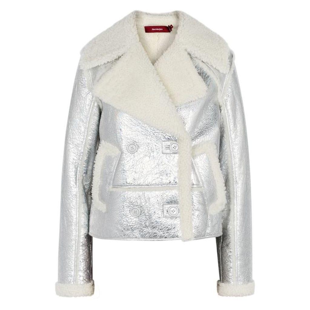 Sies Marjan Hensley Shearling-lined Leather Jacket