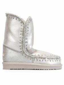 Mou 'Eskimo' metallic boots