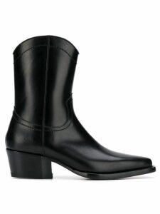 Dsquared2 ankle cowboy boots - Black