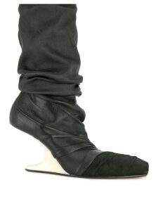 Rick Owens wedge boots - Black