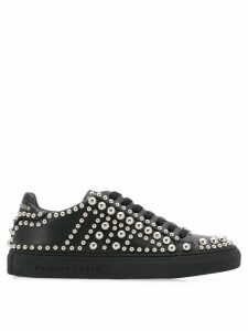 Philipp Plein studded low-top sneakers - Black
