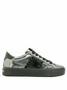 Kennel & Schmenger studded lace-up sneakers - Metallic