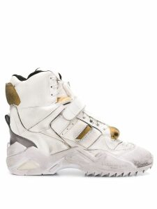 Maison Margiela Artisanal hi-top sneakers - White
