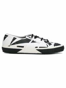 Superga SUPERGA X VITKAC two tone lace-up sneakers - White