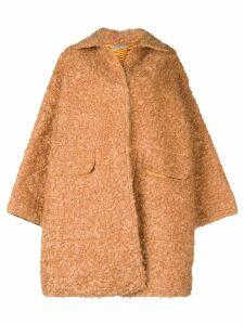 Bottega Veneta cocoon coat - Yellow
