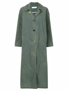 Walk Of Shame oversized dust cloak - Green