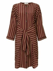 Guild Prime striped belted dress - Red