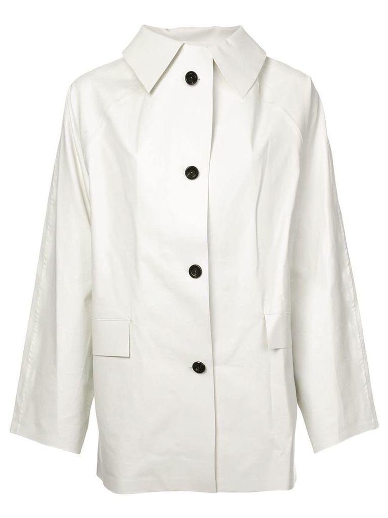 Kassl single breasted jacket - White