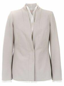 Mara Mac panelled blazer - Grey