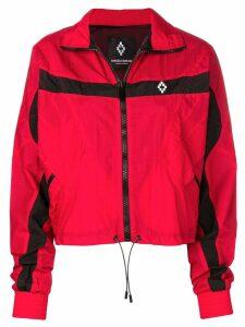 Marcelo Burlon County Of Milan logo print jacket - Red