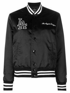 Marcelo Burlon County Of Milan LA print bomber jacket - Black