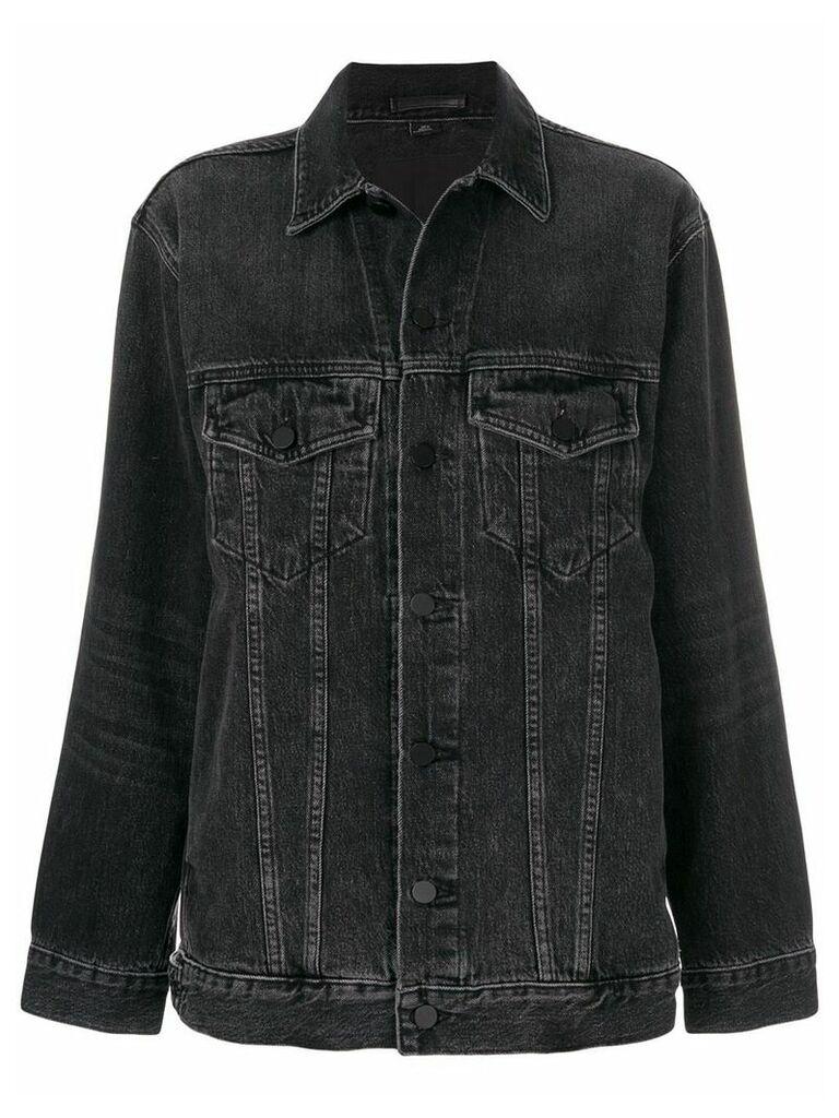 Alexander Wang Daze denim jacket - Black