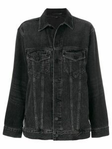 Alexander Wang Daze denim jacket - Black