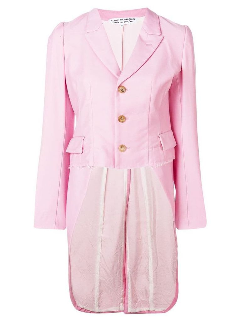 Comme Des Garçons Comme Des Garçons Victoriana-style jacket with tails