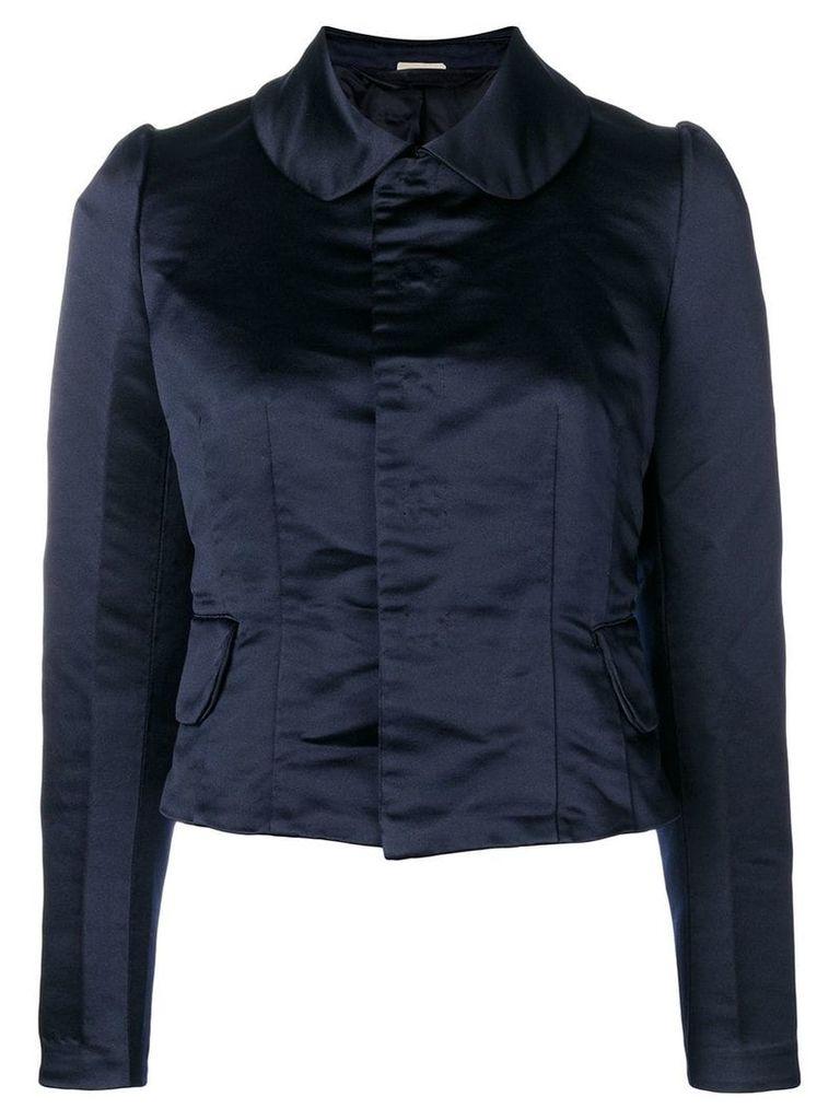 Comme Des Garçons Comme Des Garçons Victoriana-style fitted jacket -
