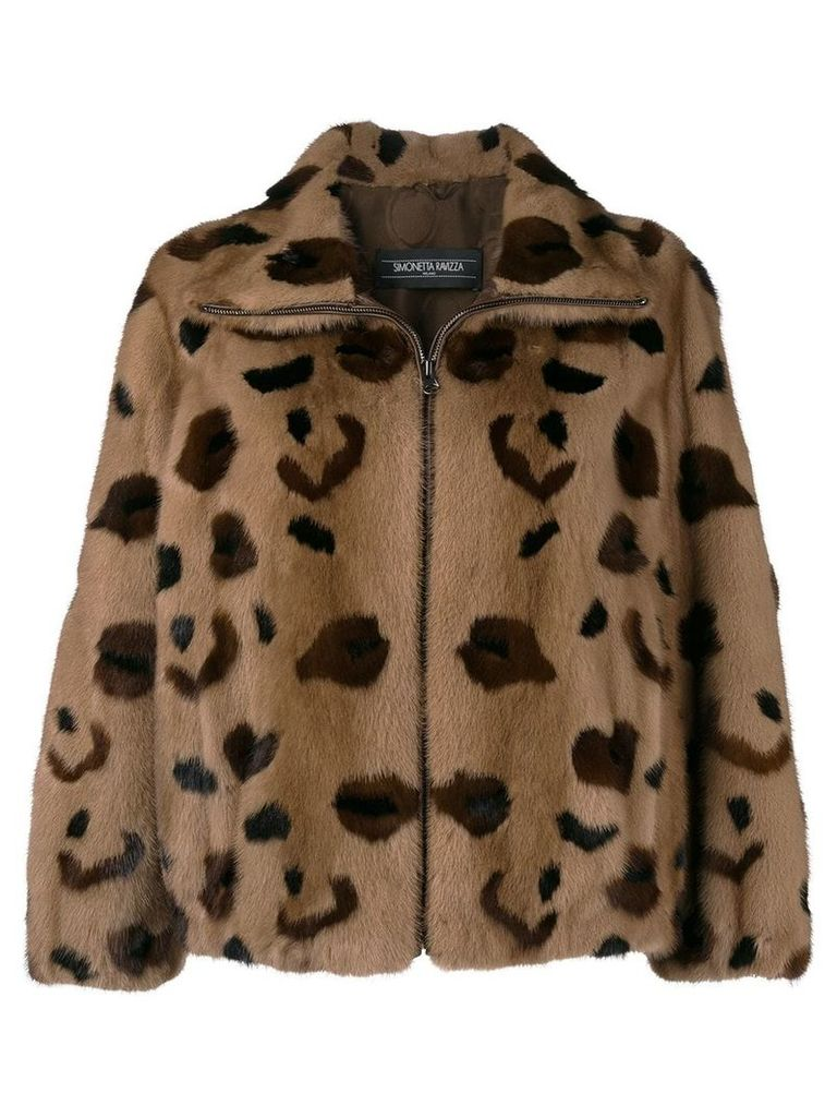 Simonetta Ravizza Bluma Leo jacket - Brown