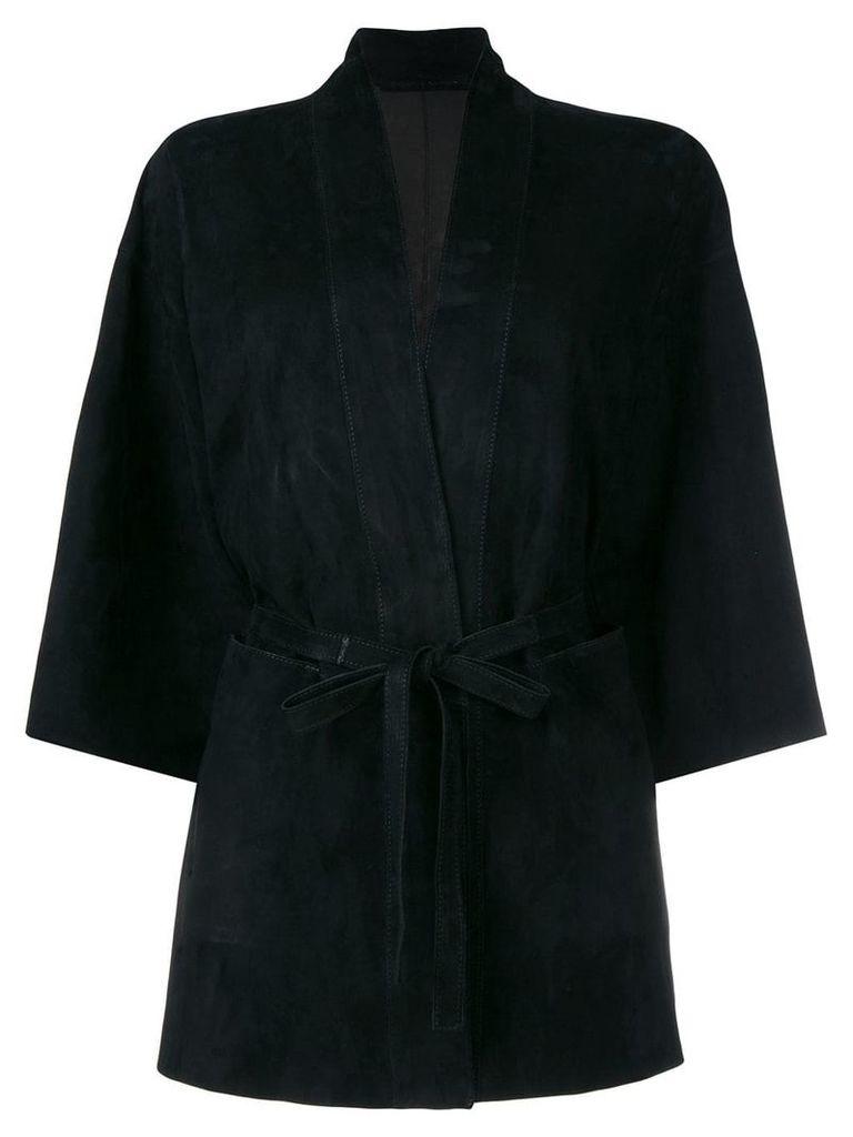 Salvatore Santoro belted jacket - Black