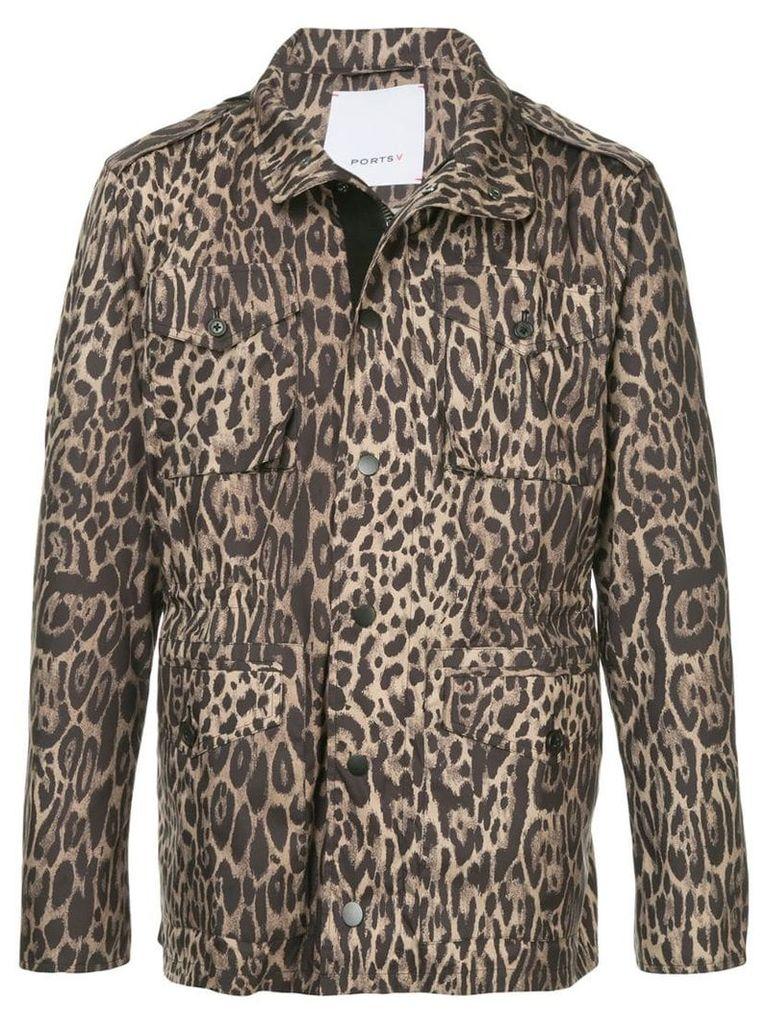 Ports V leopard print jacket - Multicolour