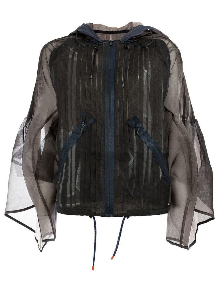 Quetsche oversized jacket - Brown