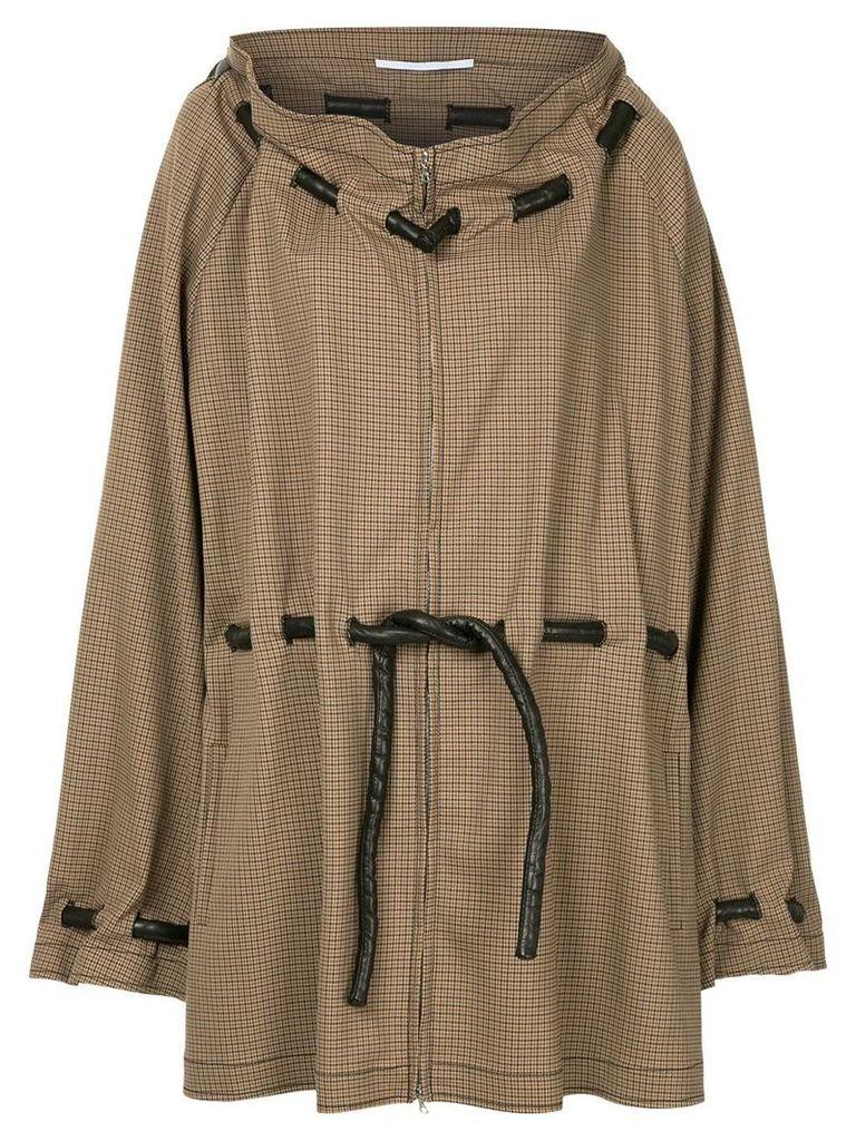 Rosetta Getty drawstring waist jacket - Brown