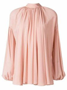 Stella McCartney long-sleeve flared blouse - Pink