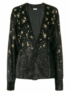 Attico embellished star body - Black