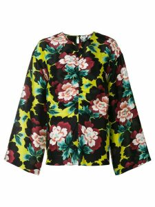 Kenzo wide sleeved blouse - Black