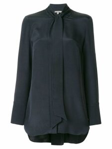 Layeur bow tie blouse - Blue