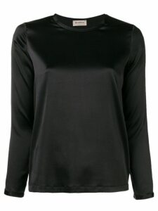 Blanca round neck blouse - Black