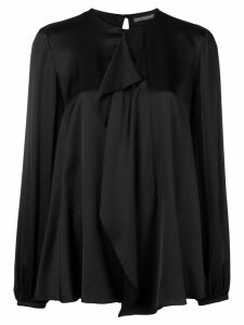 Alexander McQueen loose fit blouse - Black