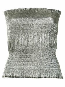 Georgia Alice Sublime tube top - Metallic