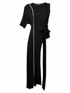 Valery Kovalska asymmetric longline top - Black