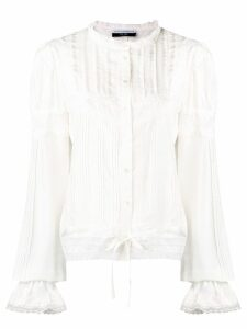 Faith Connexion frilled blouse - White
