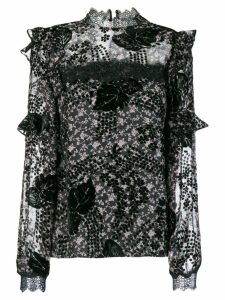 Three Floor Hoodoo blouse - Black