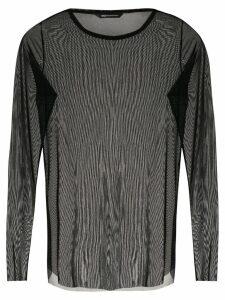 Uma Raquel Davidowicz Mala tulle blouse - Black