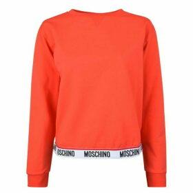 Moschino Underwear Logo Band Sweatshirt