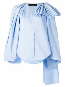 Y/Project oversized fit blouse - Blue